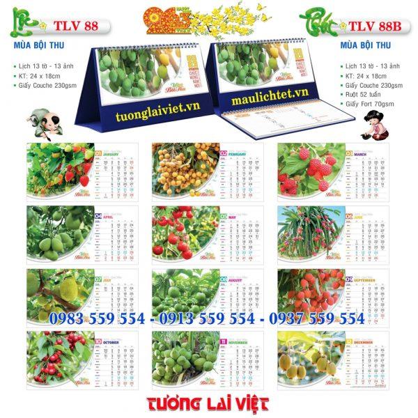 Mẫu Lịch Để Bàn Việt Nam Thịnh Vượng