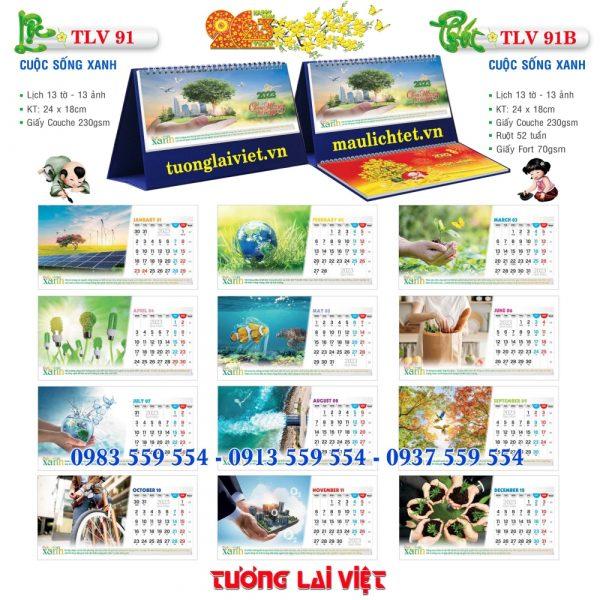 Mẫu Lịch Để Bàn Hành Trình Di Sản Việt
